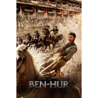 Ben-Hur HD Digital Movie Code!