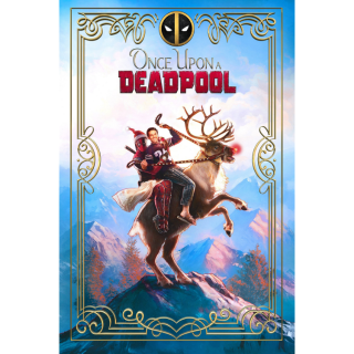 Once Upon a Deadpool HD Digital Movie Code!