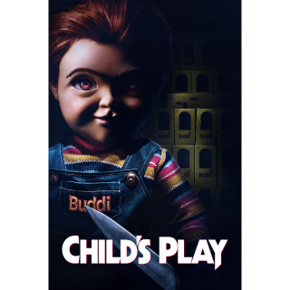 Child's Play HD Digital Movie Code!