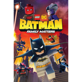LEGO DC: Batman - Family Matters HD Digital Movie Code!