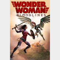 Wonder Woman: Bloodlines  FULL HD DIGITAL MOVIE CODE!!