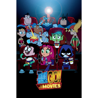 Teen Titans Go! To the Movies HD Digital Movie Code!