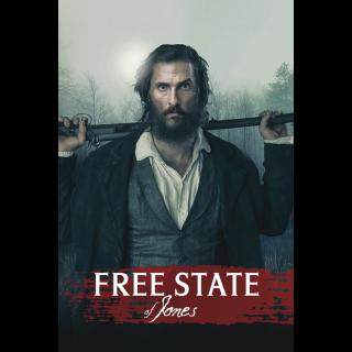 Free State of Jones HD Digital Movie Code!