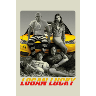 Logan Lucky 4K UHD Digital Movie Code!