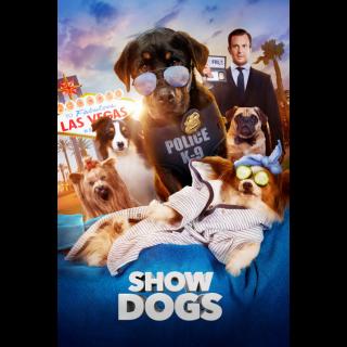Show Dogs HD Digital Movie Code!
