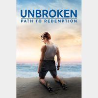 Unbroken: Path to Redemption HD Digital Movie Code!!