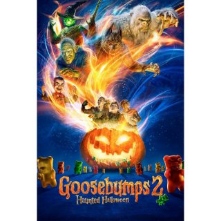 Goosebumps 2: Haunted Halloween HD Digital Movie Code!