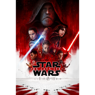 Star Wars: The Last Jedi HD Digital Movie Code!