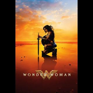 Wonder Woman 4K UHD Digital Movie Code!