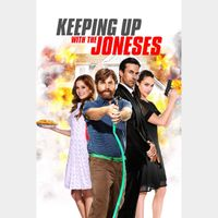 Keeping Up with the Joneses FULL HD DIGITAL MOVIE CODE!