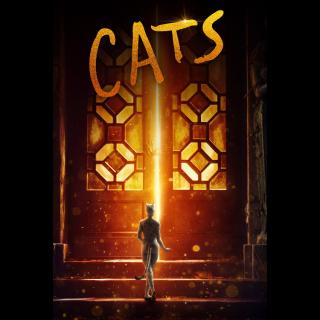Cats  FULL HD DIGITAL MOVIE CODE!!