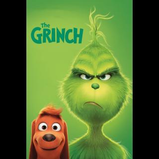 The Grinch HD Digital Movie Code!