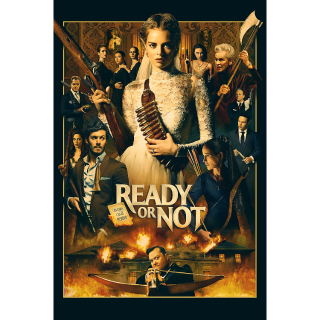 Ready or Not HD Digital Movie Code!