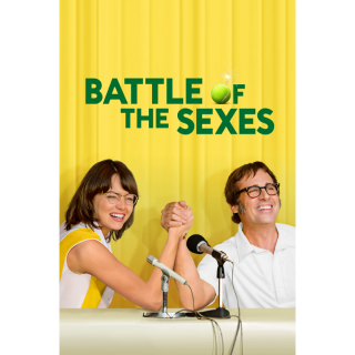 Battle of the Sexes HD Digital Movie Code!