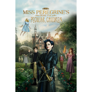 Miss Peregrine's Home for Peculiar Children HD Digital Movie Code!