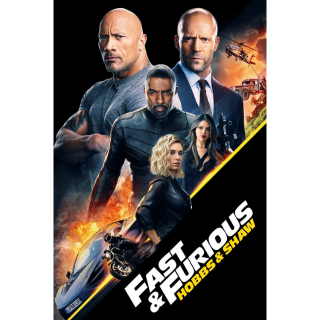 Fast & Furious Presents: Hobbs & Shaw 4K UHD Digital Movie Code!
