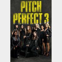 Pitch Perfect 3  FULL HD DIGITAL MOVIE CODE!!