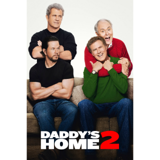 Daddy's Home 2 4K UHD Digital Movie Code! ACTUAL CODE NOT INSTAWATCH!