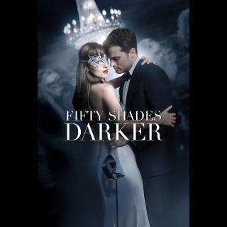 Fifty Shades Darker FULL HD DIGITAL MOVIE CODE!!