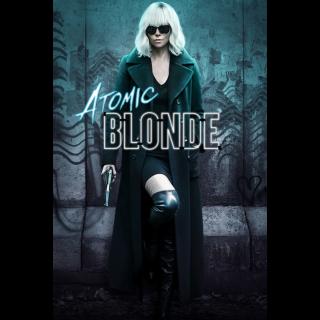 Atomic Blonde 4K UHD Digital Movie Code!