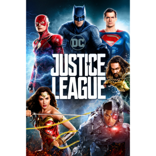 Justice League HD Digital Movie Code!
