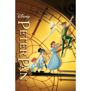 Peter Pan Anniversary Edition HD Digital Movie Code!