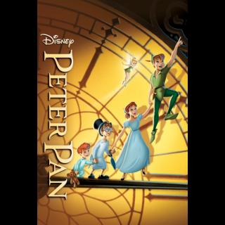 Peter Pan Anniversary Edition HD Digital Movie Code!