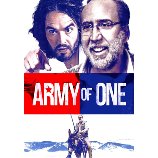 Army of One HD Digital Movie Code!