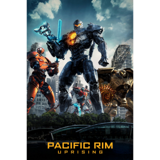 Pacific Rim: Uprising HD Digital Movie Code!
