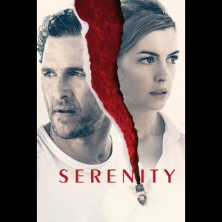 Serenity HD Digital Movie Code!