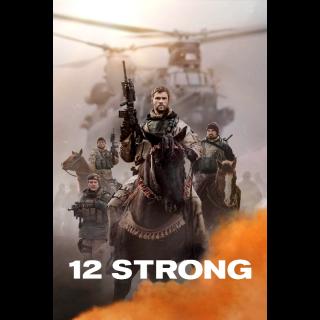 12 Strong FULL HD DIGITAL MOVIE CODE!!