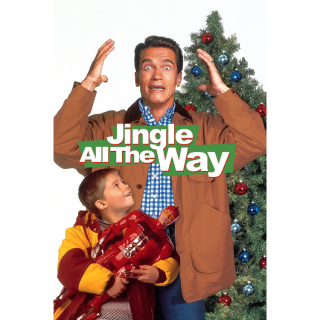 Jingle All the Way HD Digital Movie Code!