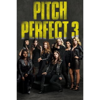 Pitch Perfect 3 HD Digital Movie Code!