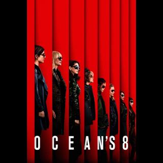 Ocean's Eight 4K UHD Digital Movie Code!