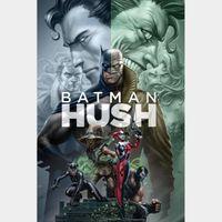 Batman: Hush HD Digital Movie Code!!