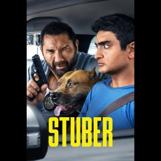 Stuber HD Digital Movie Code!