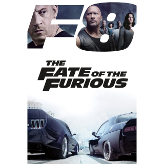 The Fate of the Furious HD Digital Movie Code!