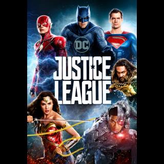 Justice League 4K UHD Digital Movie Code!