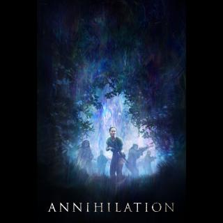 Annihilation  FULL HD DIGITAL MOVIE CODE!!!