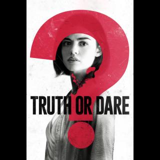 Truth or Dare HD Digital Movie Code