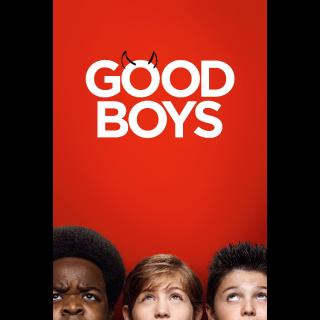 Good Boys HD Digital Movie Code!