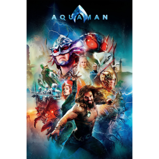 Aquaman HD Digital Movie Code!