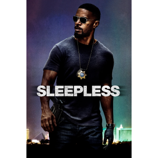 Sleepless HD Digital Movie Code!