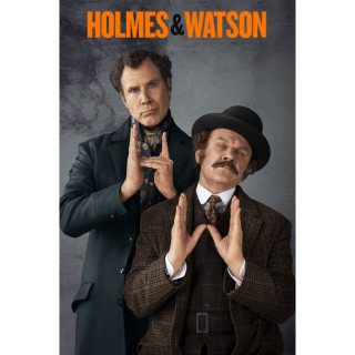 Holmes & Watson HD Digital Movie Code!