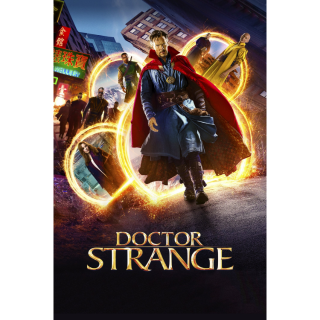 Doctor Strange HD Digital Movie Code!