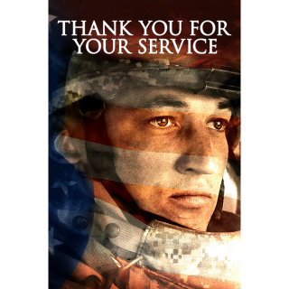 Thank You for Your Service HD Digital Movie Code!