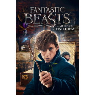 Fantastic Beasts and Where to Find Them 4K UHD Digital Movie Code!