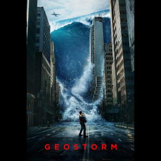 Geostorm HD Digital Movie Code!