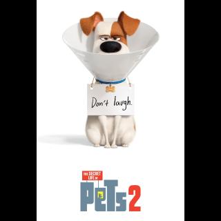 The Secret Life of Pets 2 4K UHD Digital Movie Code!