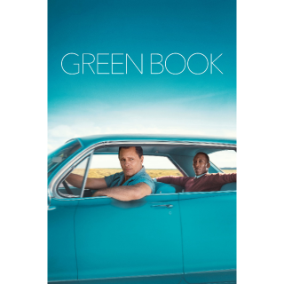 Green Book HD Digital Movie Code!